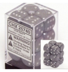 12 d6 16mm Speckled - Urban Camo CHX 25728