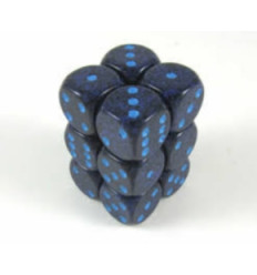 12 d6 16mm Speckled Cobalt CHX 25707