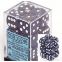 12 d6 16mm Speckled Stealth CHX 25746