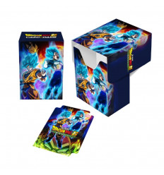 Ultra Pro - Deck Box - Dragon Ball Super - Full-Wiew - Goku, Vegeta e Broly (E-85980)