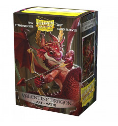 Dragon Shield Art Sleeves Matte - Valentine Dragon 2020 (100pz.) (AT-12047)