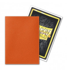 Dragon Shield - Matte Tangerine (100 pz) (AT-11030)
