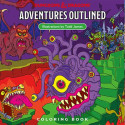 D&D Adventure Outlined Coloring Book