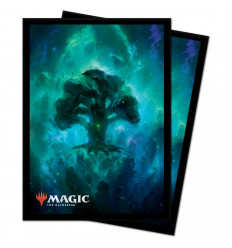 Ultra Pro - Deck Protectors Sleeves - Magic: The Gathering - Celestial Forest - 100 Pz (E-18288)
