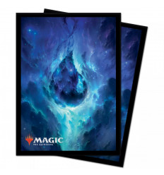 Ultra Pro - Deck Protectors Sleeves - Magic: The Gathering - Celestial Island - 100 Pz (E-18285)
