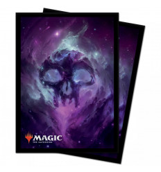 Ultra Pro - Deck Protectors Sleeves - Magic: The Gathering - Celestial Swamp - 100 Pz (E-18286)