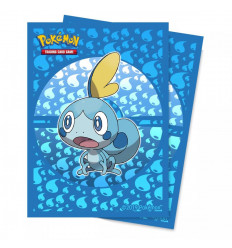 Ultra Pro - Deck Protectors Sleeves - Pokemon - Sword and Shield Galar Starters Sobble - 65 Pz (E-15361)