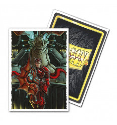 Dragon Shield Art Sleeves Matte - Emperor Scion: Portrait (100pz.) (AT-12045)