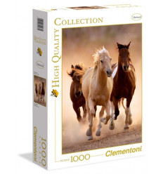 Puzzle 1000pz - High Quality Collection - Running Horses (39168)