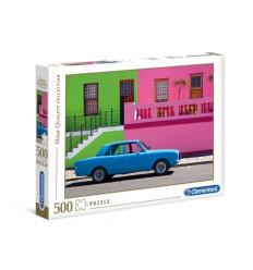 Puzzle 500pz - High Quality Collection - The Blue Car (35076)