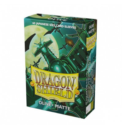 Dragon Shield - Japanese Size (60pz.) - Matte Olive (AT-11140)