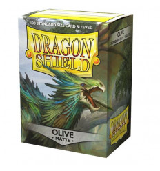 Dragon Shield - Matte Olive (100 pz) (AT-11040)