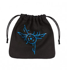 Galactic Black-Blue Dice Bag - BGAL67