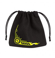 Galactic Black-Yellow Dice Bag - BGAL45