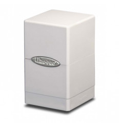Ultra Pro - Deck Box - Satin Tower - White (E-84172) APERTO COME NUOVO