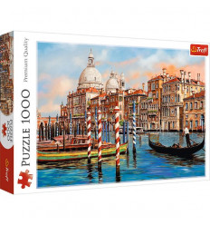 Puzzle 1000pz - The Afternoon in Venice Canal Grande (10460)