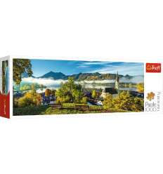 Puzzle 1000pz Panorama - By the Schliersee Lake (29035)