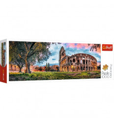 Puzzle 1000pz Panorama - Colosseum at Dawn (29030)