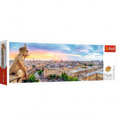 Puzzle 1000pz Panorama - View from the Cathredal of Notre-Dame de Paris (29029)