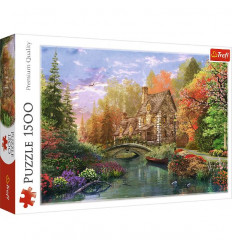 Puzzle 1500pz - Cottage by the Lake (26136)