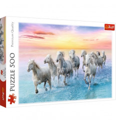 Puzzle 500pz - Galloping White Horses (37289)