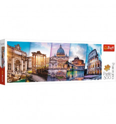 Puzzle 500pz Panorama - Traveling to Italy (29505)