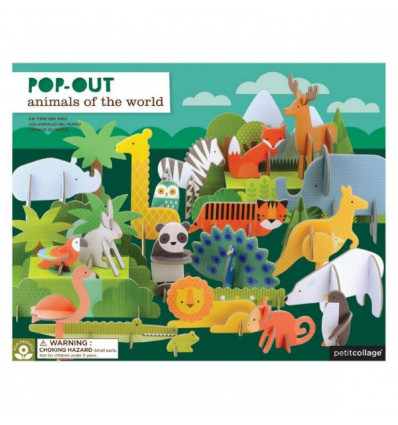 Animals Of The World Deluxe Pop-Out