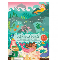 Mermaid World Sticker Activity Set