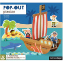 Pirate Ship Pop Out