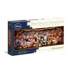 Puzzle 1000pz - High Quality Collection - Panorama - Disney Orchestra (39445)