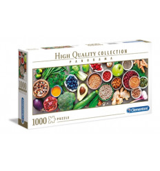 Puzzle 1000pz - High Quality Collection - Panorama - Healthy Vegghy (39518)