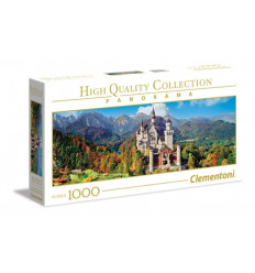 Puzzle 1000pz - High Quality Collection - Panorama - Neuschwanstein (39438)