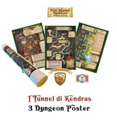 Four Against Darkness: I Tunnel di Kendras - 3 Dungeon Poster