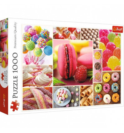 Puzzle 1000pz - Candy Collage (10469)