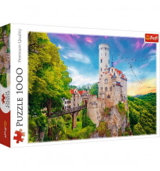 Puzzle 1000pz - Lichtenstein Castle, Germany (10497)
