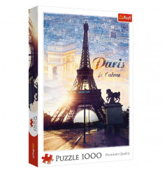 Puzzle 1000pz - Paris at Dawn (10394)