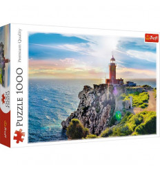 Puzzle 1000pz - The Melagavi Lighthouse, Greece (10436)
