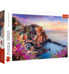 Puzzle 1500pz - View of Manarola (26137)