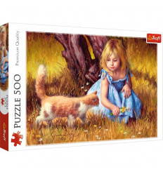 Puzzle 500pz - In the Center of Attention (37291)