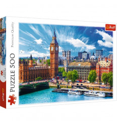 Puzzle 500pz - Sunny Day in London (37329)