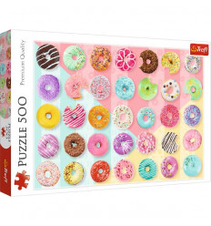 Puzzle 500pz - Sweet Donuts (37334)