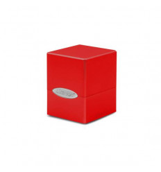 Ultra Pro - Deck Box - Satin Cube - Apple Red (E-15587)
