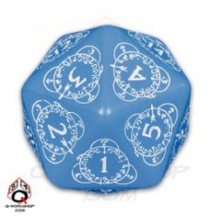 D20 Level Counter Blue-white (1) 20LEV33