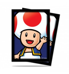 Ultra Pro - Deck Protector Sleeves - Super Mario: Toad (65 Sleeves)