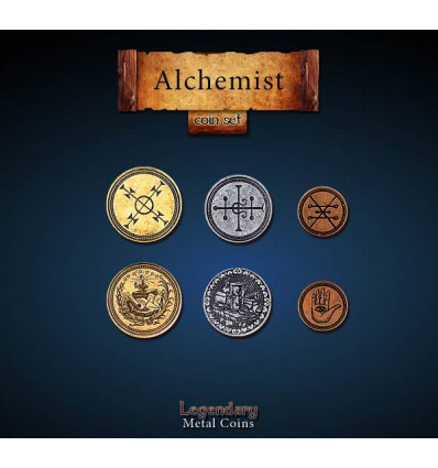 Legendary Coin - Alchemist - SET