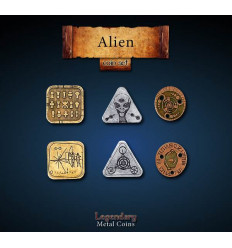 Legendary Coin - Alien - SET