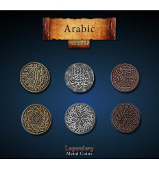 Legendary Coin - Arabic - SET