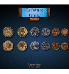 Legendary Coin - Creature Units - SET
