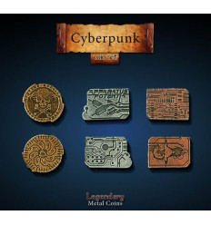 Legendary Coin - Cyberpunk - SET