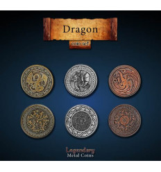 Legendary Coin - Dragon - SET